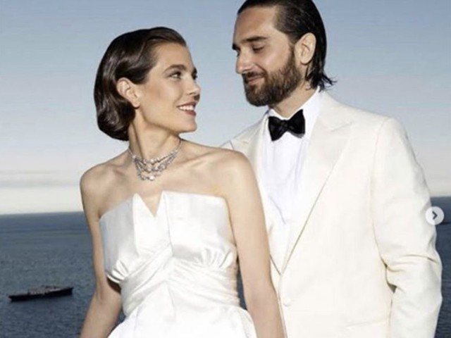 Charlotte Casiraghi et Dimitri Rassam : la première photo de leur mariage religieux secret