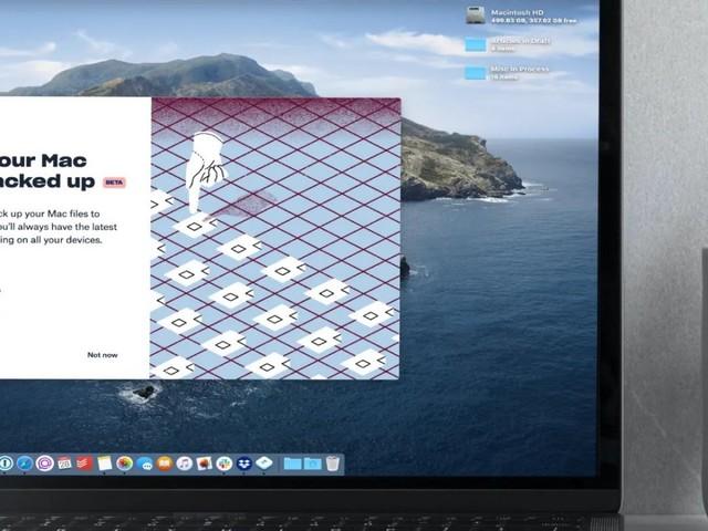 Mac : Dropbox va synchroniser le bureau, les documents et téléchargements