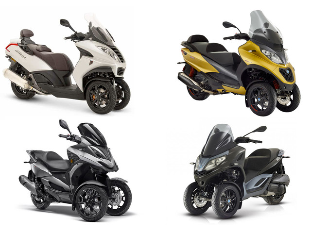 Marché scooter 3-roues octobre 2019 : stable