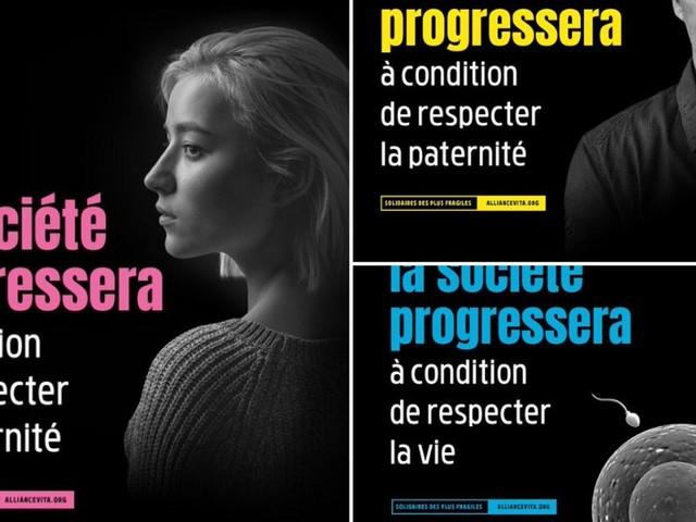 """Après le retrait de ses pubs anti-IVG et PMA, Alliance-Vita dénonce une """"censure"""""""