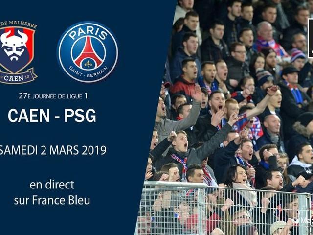 DIRECT - Ligue 1 (J27) : Caen peut-il tenir le coup face au PSG ?