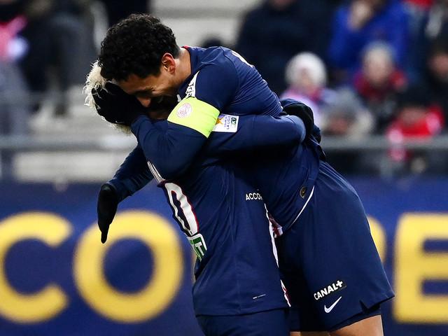Coupe de la Ligue: soirée contrastée pour Marquinhos