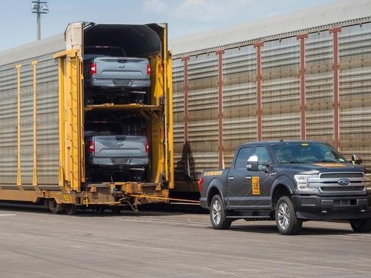Jusqu'à quatre moteurs pour le Ford F150 électrique ?