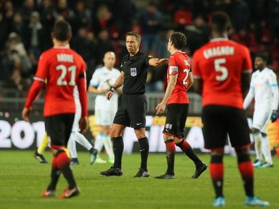 Foot - C. Ligue - L'arbitre de Rennes - Marseille s'explique