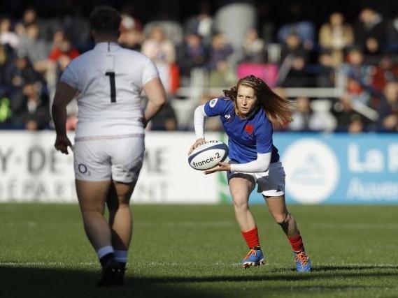 Rugby - Tournoi (F) - Bleues - Tournoi (F) : cinq changements en équipe de France féminine pour affronter l'Angleterre