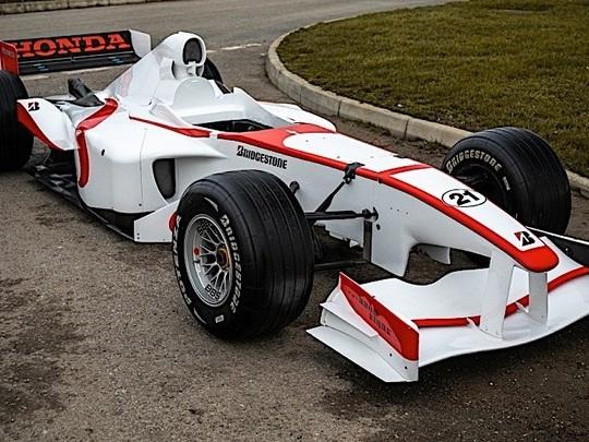 Une ancienne F1 transformée en simulateur