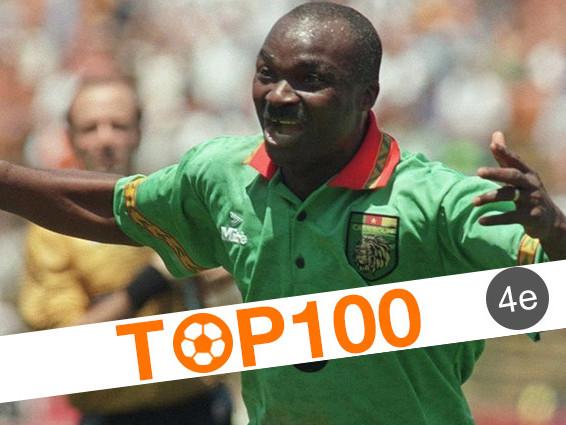 Top 100 des joueurs africains de l'histoire: 4e - Roger Milla