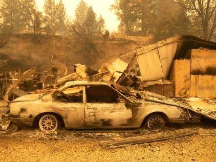 Une partie de la côte ouest américaine ravagée par les incendies