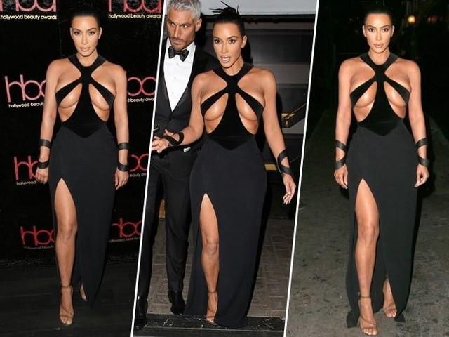 Kim Kardashian : mais c'est quoi ce look ?