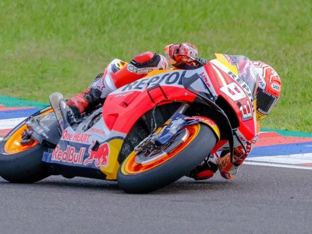 GP Aragon-Libres MotoGP: Marquez devant, Quartararo placé