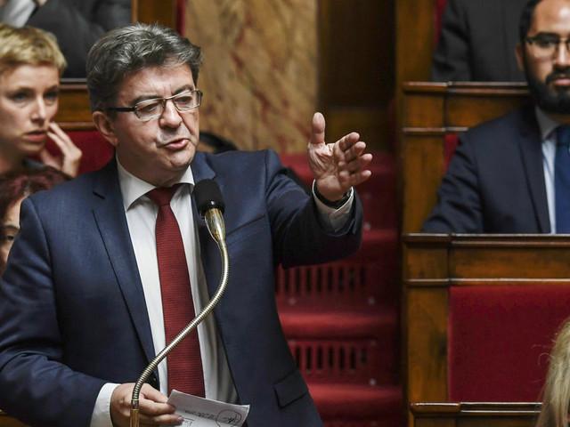 Menace d'attentat: Mélenchon interpelle Philippe à l'Assemblée sur sa sécurité