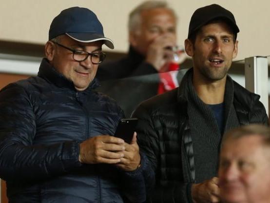 Foot - C1 - Novak Djokovic assistera à Étoile Rouge - PSG