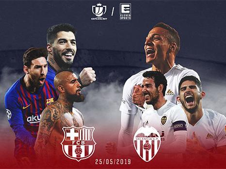 Eleven Sports va diffuser la finale de Copa del Rey