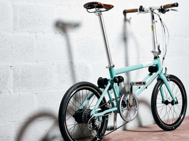 Ahooga : vélo électrique pliant, bruxellois et si léger
