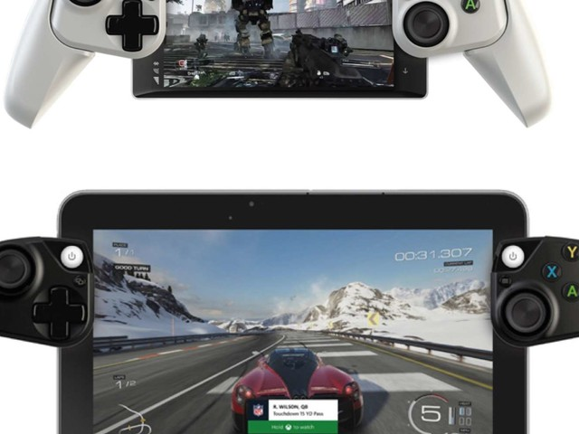 Microsoft envisage de transformer les smartphones en manettes Xbox