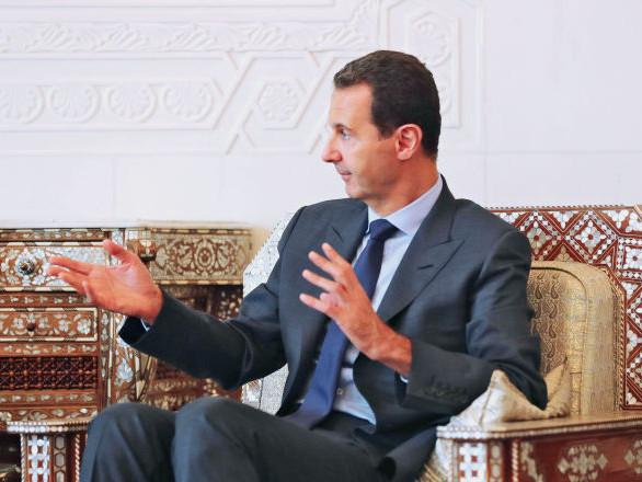 Bachar el-Assad désigne deux causes de la guerre en Syrie