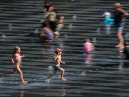 Canicule persistante en Europe occidentale, nouveau record de températures attendus