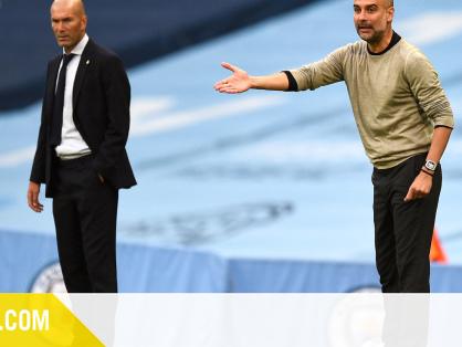 """Pep Guardiola : """"Pour nous, c'est important de battre deux fois l'équipe de Zinédine Zidane"""""""