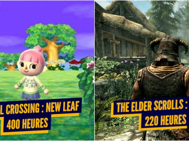 Top 10 des jeux vidéo les plus longs à finir