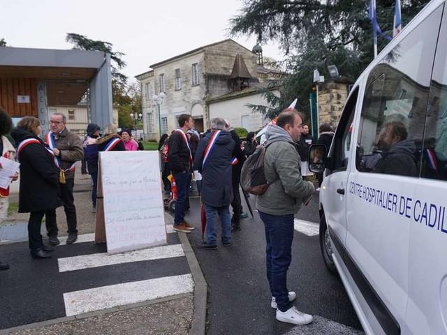 Sud-Gironde : jour de grève à l'hôpital psychiatrique de Cadillac