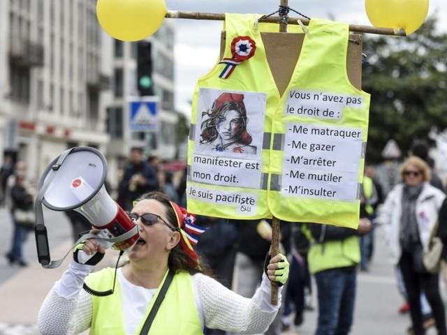 """Acte 44 des """"Gilets jaunes"""": 400 manifestants à Nantes"""