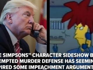 The Simpsons did it, Tahiti Trump ?