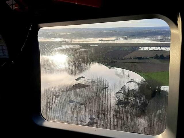 La Réole : la Garonne va frôler la barre dangereuse des 9 mètres ce lundi 16 décembre