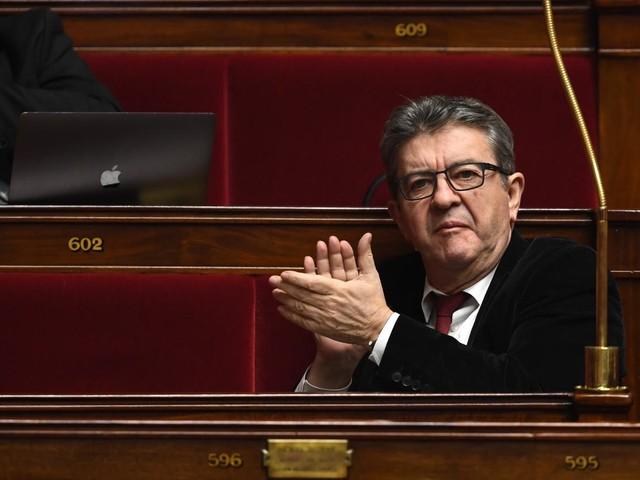 """""""Gilets jaunes"""": Jean-Luc Mélenchon soutient l'appel d'Eric Drouet et de la CGT à une """"grève générale"""" le 5février"""