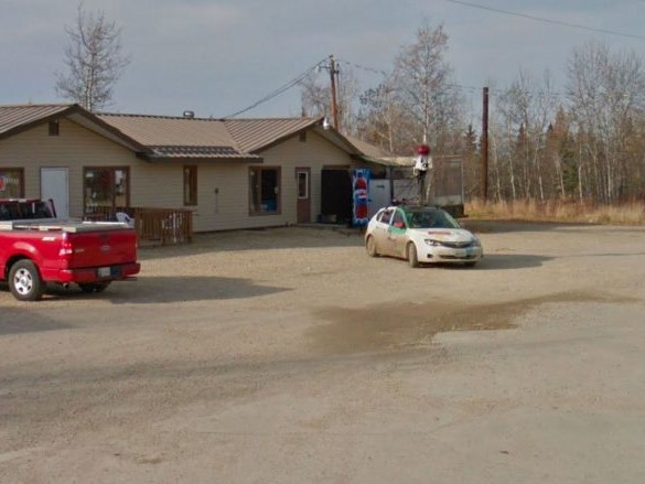 Quand Google Street View immortalise une Google Car se baladant en Alaska