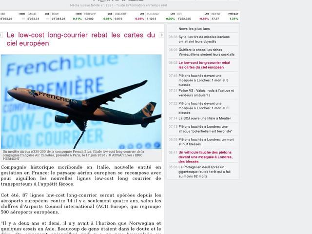 Le low-cost long-courrier rebat les cartes du ciel européen