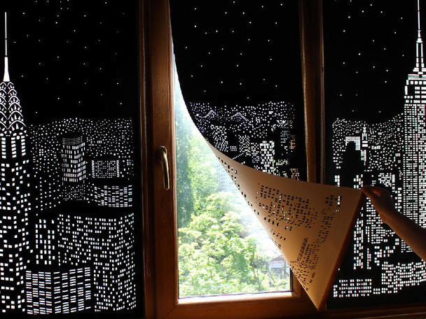 Turn your Window into a Nightscape