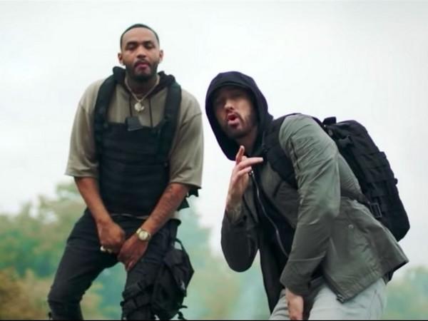 Eminem : le clip de «Lucky You» et la réponse à Machine Gun Kelly avec le titre «Killshot» !