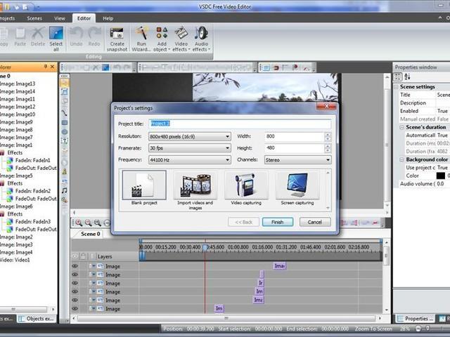 VSDC Free Video Editor : éditeur de vidéo gratuit pour Windows