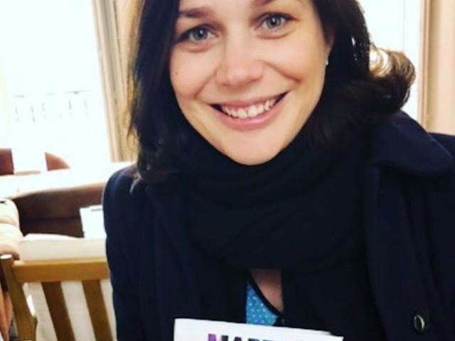 Nathalie Péchalat, enceinte d'une fille, un exemple à suivre, sa grande annonce
