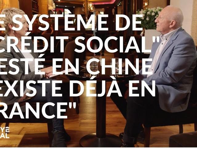 """Envoyé spécial : Le système de """"crédit social"""" testé en Chine """"existe déjà en France"""""""