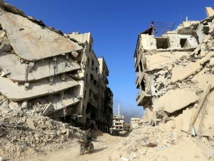 Syrie: les destructions à Yarmouk rendent improbable le retour des habitants (ONU)