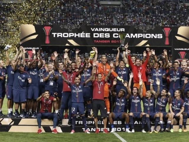 Le PSG remporte le Trophée des Champions à Tanger