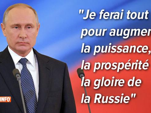 Poutine prête serment pour son (probable) dernier mandat