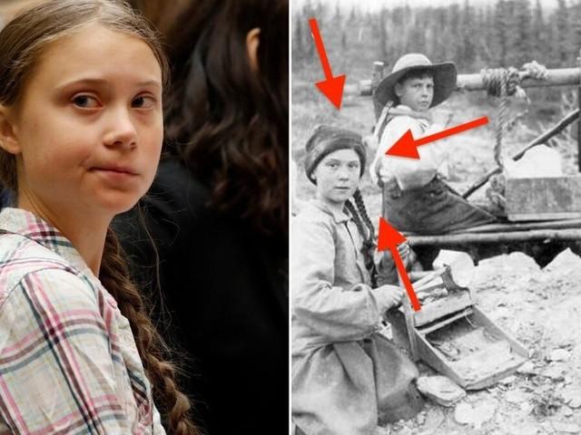 Greta Thunberg visée par une nouvelle théorie avec cette photo