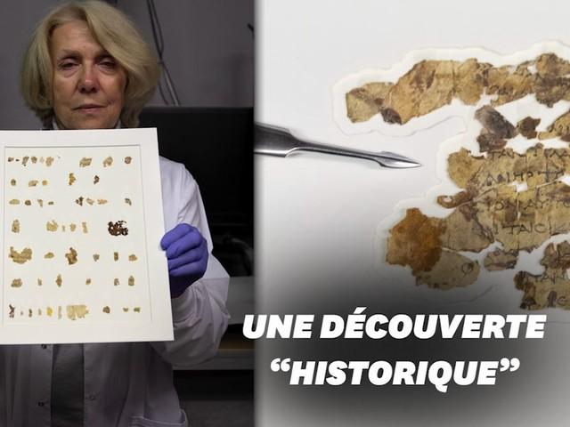 Des fragments de parchemin vieux de 2000 ans découverts en Israël