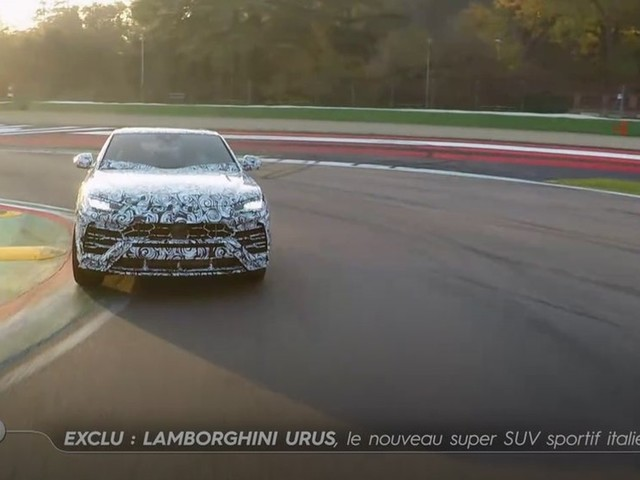 Lamborghini Urus, le super SUV sportif italien - Emission TURBO du 10/12/2017