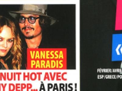 Vanessa Paradis, Johnny Depp, c'est chaud, nuit hot à Paris, ça se précise