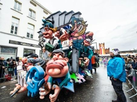 Israël salue le retrait du carnaval belge d'Alost de la liste de l'Unesco