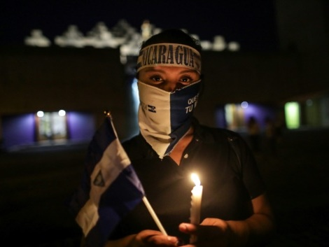 Nicaragua: une veillée pour la libération d'opposants au président Ortega