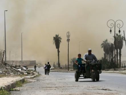 Syrie: 26 combattants prorégime, dont des Iraniens, tués par des missiles