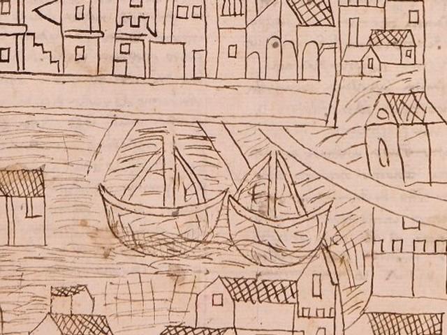 Venise livre ses secrets grâce à la découverte d'un dessin du XIVe siècle