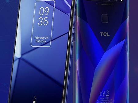 TCL présente la nouvelle gamme de smartphones, la série TCL 10 (CES 2020)