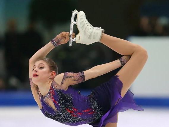 Pat. artistique - Euro (F) - Alena Kostornaia sacrée championne d'Europe à Graz