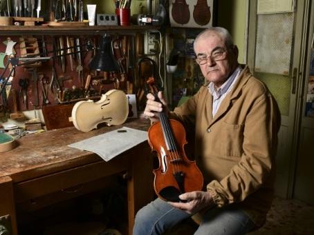 La patrie de Stradivarius, vivier de luthiers du monde entier
