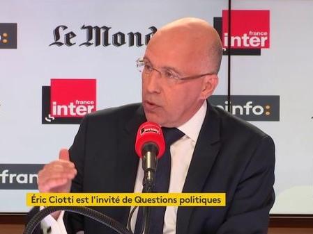"Eric Ciotti : ""Je demande qu'on interdise les manifestations"" de ""gilets jaunes"" samedi prochain"
